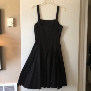 New Ralph Lauren black dress.